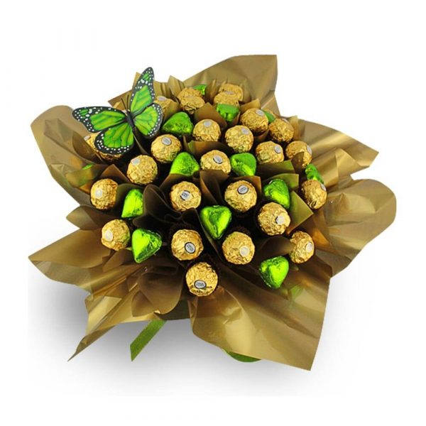 Ferrero Rocher Dream Hearts Green