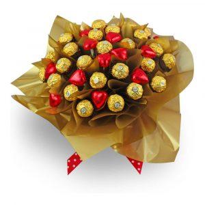 Ferrero Rocher Dream Hearts red