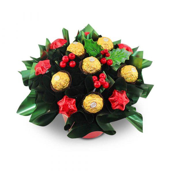 Ferrero and Stars Chocolate Bouquet