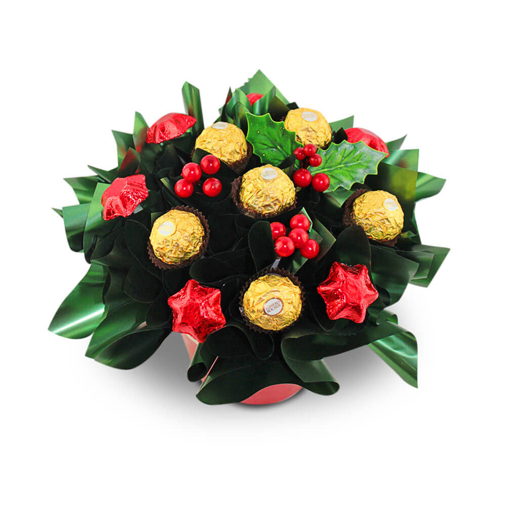 Ferrero and Stars Chocolate Bouquet