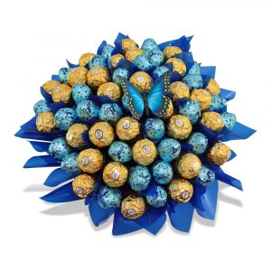 Milk Baci and Ferrero box