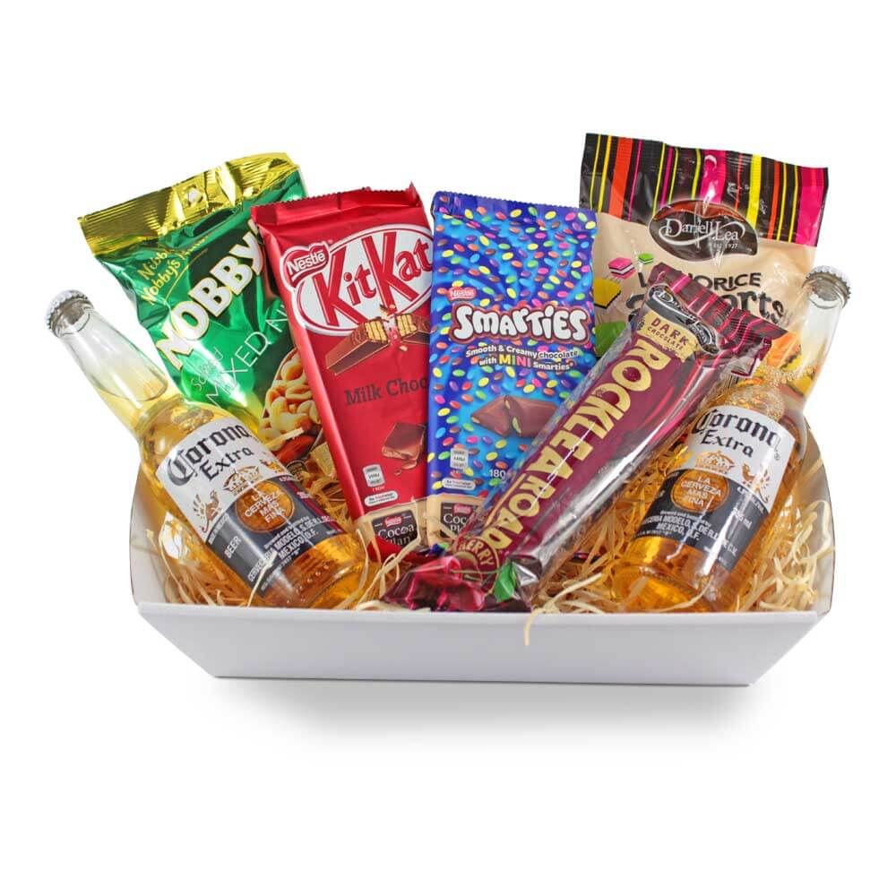 Corona and Snacks Hamper