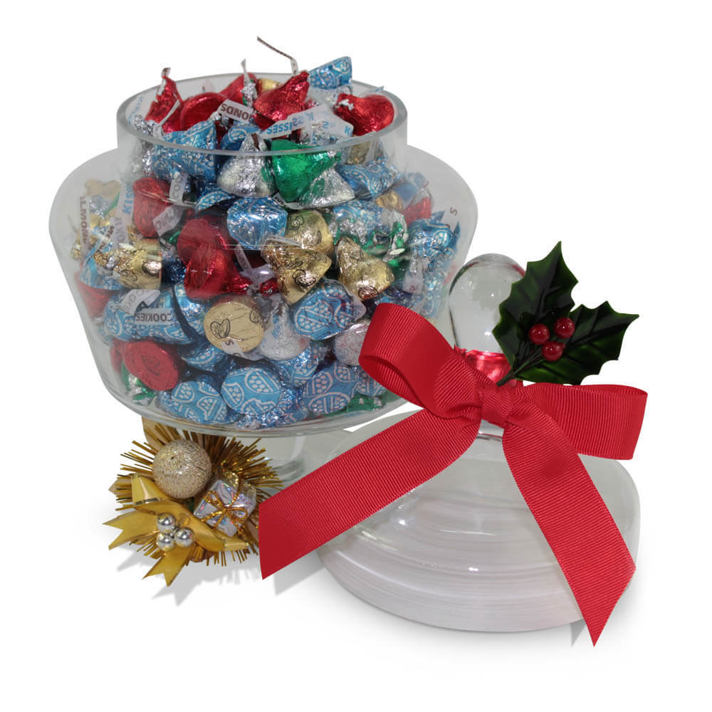 Christmas Hershey Kisses Chocolate Arrangement Delivery Sydney