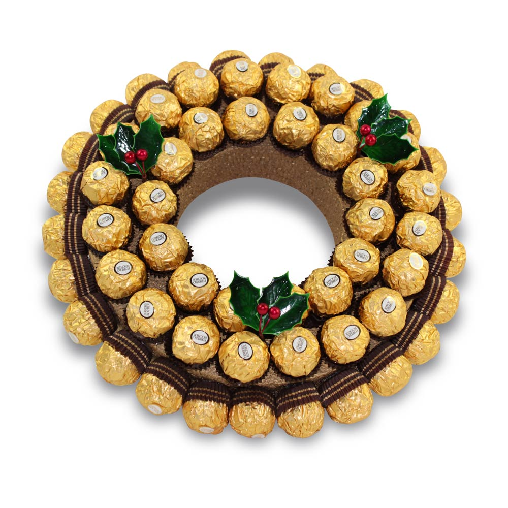 Ferrero Rocher Christmas Wreath