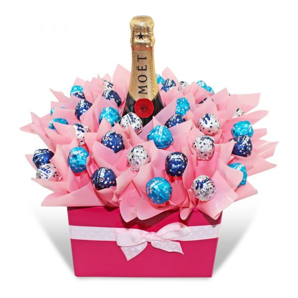 Moet Chandon and Baci Pure Indulgence Chocolate Bouquet