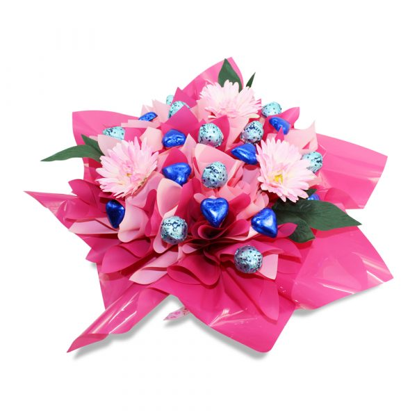 Baci and Gerbera Delight Chocolate Bouquet