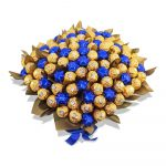 Ferrero Rocher with Stars Chocolate Bouquet Blue