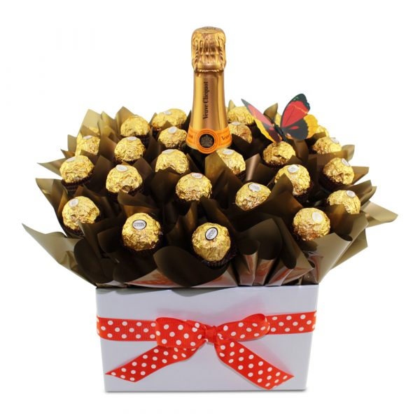 Veuve Clicquot Pure Indulgence Chocolate Bouquet