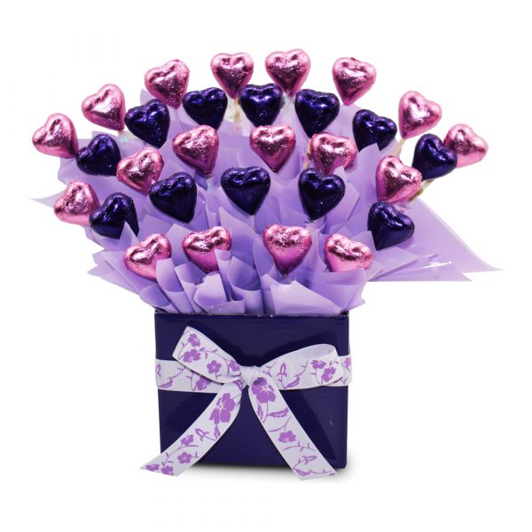 Chocolate Hearts chocolate bouquet