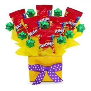 Skittles Delight Chocolate Bouquet