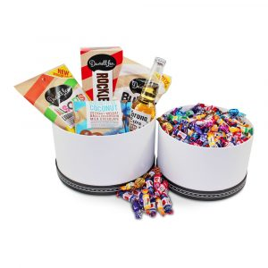 Darrell Lea, Lollies and Corona Extra Beer Tower Gift Box - Delivery Sydney