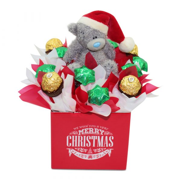 Ferrero, Stars and Santa Teddy Gift Box
