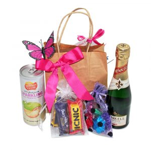 Brut and Chocolates Mini Gift Bag