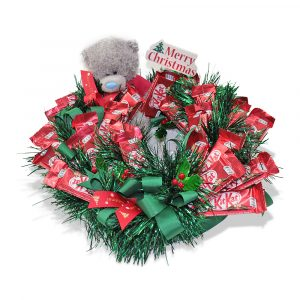 Kit Kat Christmas Chocolate Arrangement