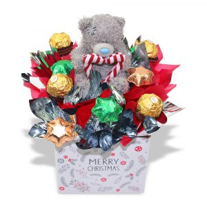 Ferrero, Stars and Candy Cane Teddy Gift Box